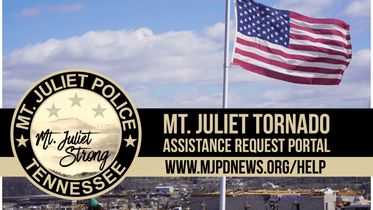 HelpPortal - Mt. Juliet Tornado Assistance Request Portal (Link)